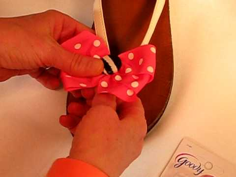 Connecting Button Bows to
