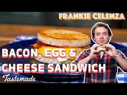 Bacon, Egg & Cheese Sandwich | Frankie Celenza