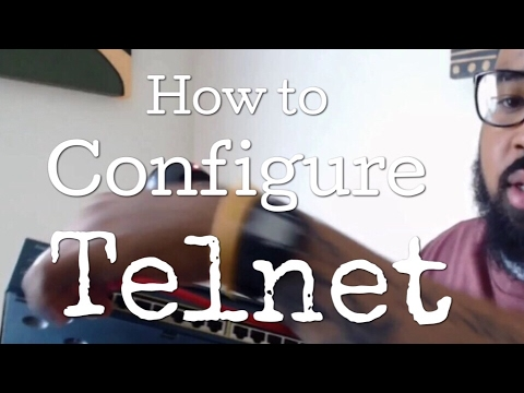 How to telnet into a cisco switch using putty