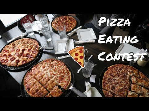 Pizza Eating Contest with D_gut5 & Ricofit23