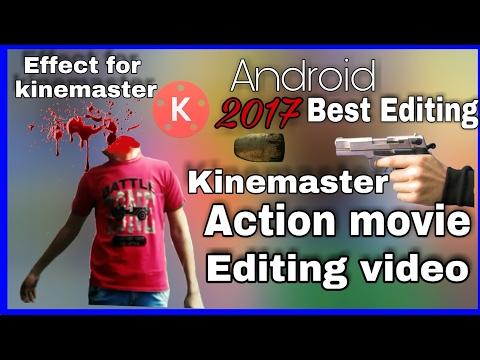 Kinemaster Video effet HEAD SHOT (How to make action movie effect ) KINEMASTER, hindi / urdu
