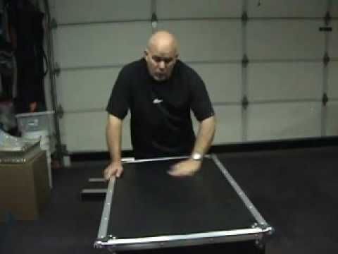 DJ Case Building Part 8 with Direct Sound and DJ Mikey Mike penn-elcom