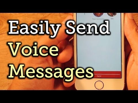 Send Quicker-Than-Text Voice Messages on iPhone to Your Friends & Family [How-To]