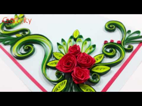 Quilling rose tutorial how to make a rose from paper quilling diy paper quilling flowers cards tutorial art how to make paper quilling rose flower card mightylinksfo