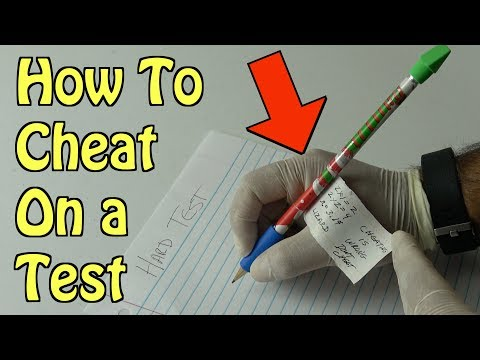 Sneaky Way To Cheat On a Test Using a Modified Pencil (Never Fails) SCHOOL LIFE HACKS