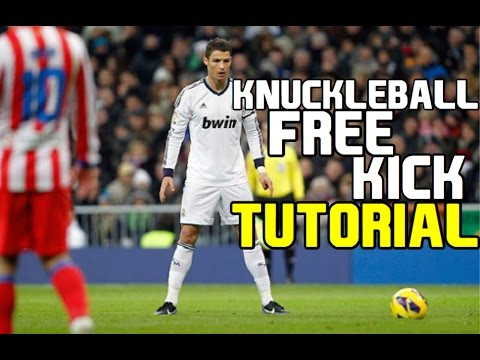 KNUCKLEBALL FREE KICK TUTORIAL!!!- FIFA IOS/ANDROID