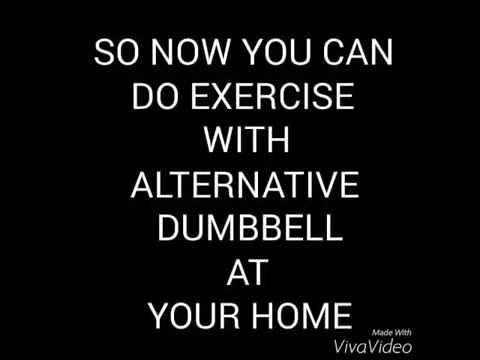 How to make alternative dumbbell