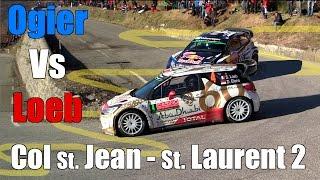 OGIER VS LOEB SS15 Col St Jean - St. Laurent