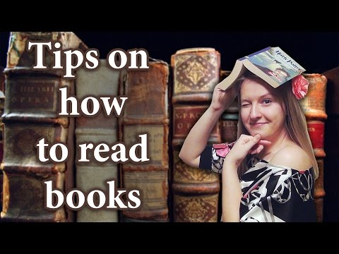 Tips on how to read books in English, Russian, German, French or any foreign language