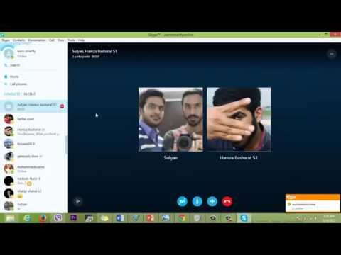 How to Merge(Add) new Call while you are already on a call on skype