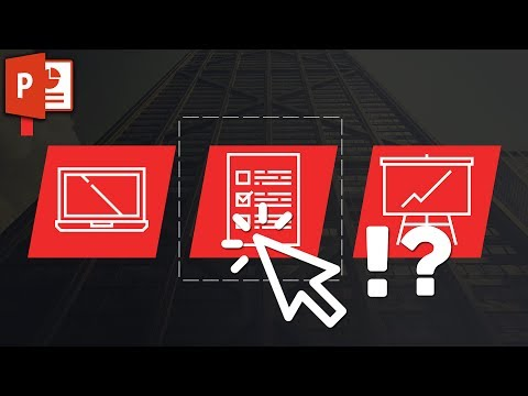 How to avoid accidentaly selecting objects in PowerPoint! How to lock down layers ✔