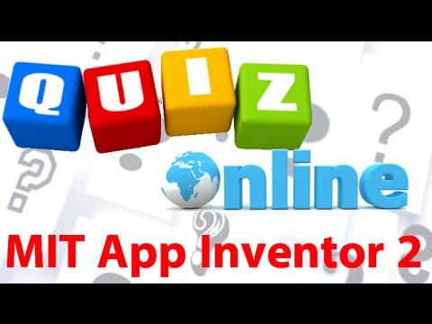 MIT App Inventor 2 ITA# Tutorial 51 Quiz Online