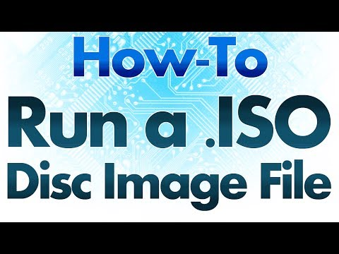 How To Run a .ISO or Disc Image File - Mounting a .ISO Disc File Using Daemon Tools