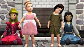 SEPARATED AT BIRTH /  PART 1 / A PRINCESS STORY / SIMS 4
