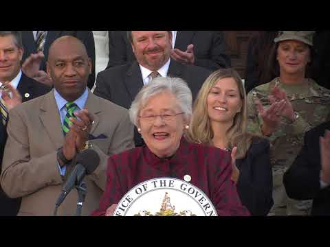Governor Ivey Announces Lowest Unemployment Rate in History at 3.8%