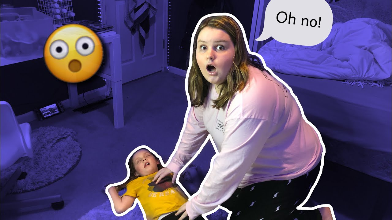 PASSING OUT PRANK ON MY SISTER!...| Kenna Lynn