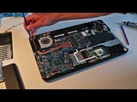 Toshiba Satellite Pro C850 Repair and Upgrade Guide