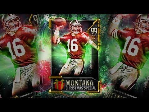 Joe Montana madden card speed-art!