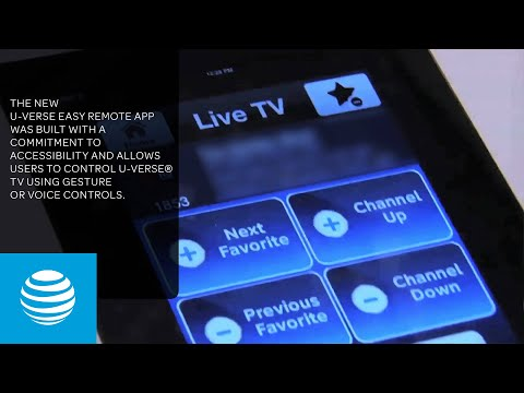 U-verse Easy Remote App - Control Your TV With iPhone or iPad | AT&T