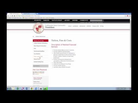 Student Financial Services Video #5: Form 1098-T