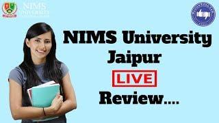 NIMS University Jaipur 2019- College Reviews & Critic Rating