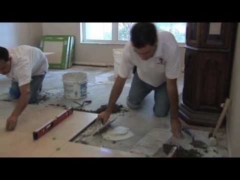 How To Install 24X24 Porcelain Tile Step By Step