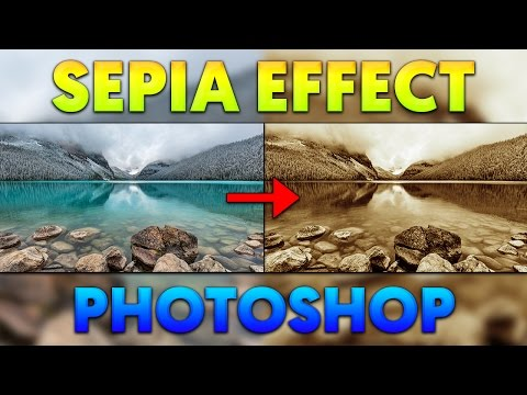 How To: Create Sepia Effect in Photoshop CC