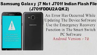 SAMSUNG J7nxt/core touch not working after update|oem on/frp