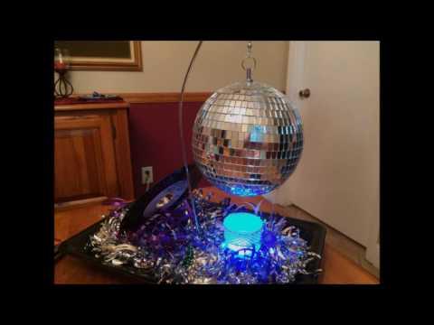 Disco Ball Centerpiece - DIY