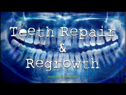 Teeth Repair & Regrowth! Subliminal Hypnosis Biokinesis Frequencies Binaural Beats