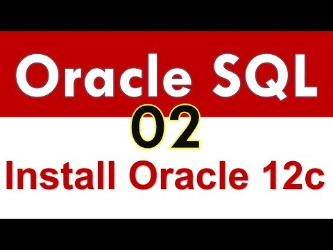 Oracle SQL - Installing Oracle 12c in Windows 10 - Lesson 2