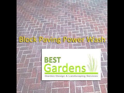 Block Paving Power Wash