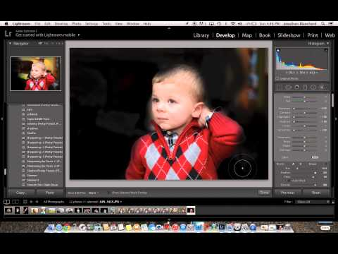 How to Create Black Background in Photoshop LightRoom