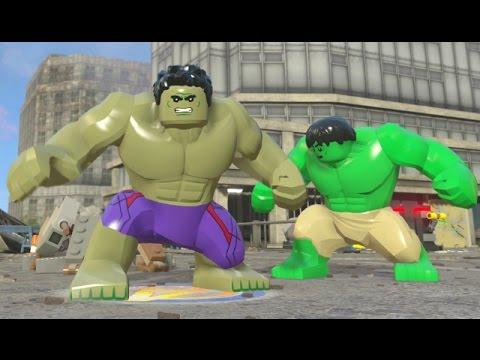 LEGO Marvel's Avengers - Hulk Open World Super Jumping (Character Showcase)