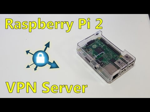 Low End Tech - Raspberry Pi 2 VPN Server easy way