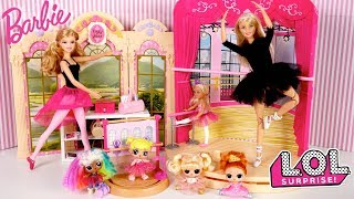 Download Barbie LOL Family After School Routine - Baby Goldies First Ballet Class Video