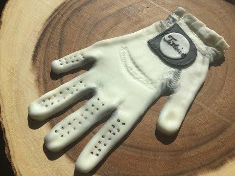 Fondant Golf Glove
