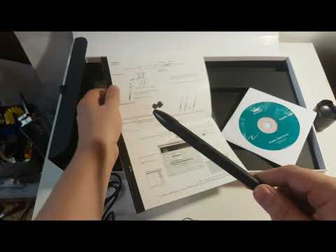 Unboxing Huion H610 Pro Graphics Tablet