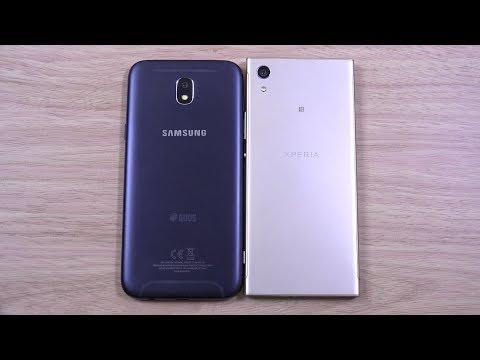 Samsung Galaxy J5 Pro 2017 vs Sony Xperia XA1 - Speed Test!