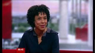 Sophie Okonedo on BBC Breakfast 25.10.11