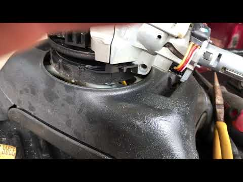 Part 2 Remove and replace 2002 S10 Chevy steering column and ignition
