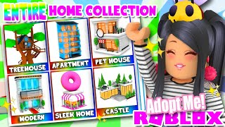 I Bought Every Single House In Adopt Me Roblox Adopt Me