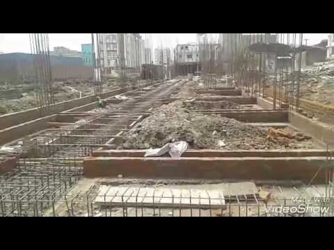 6 of 50-BUILDING CONSTRUCTION WORK VIDEO HINDI| CONSTRUCTION OF BACEMENT FLOOR ,COLUMN STATER,STEEL