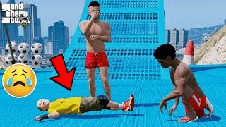 OMG! TRIP TO THE PARK GONE WRONG 😢 (GTA 5 Mods)