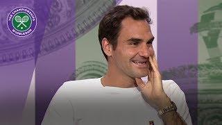 Roger Federer Wimbledon 2017 quarter-final press conference