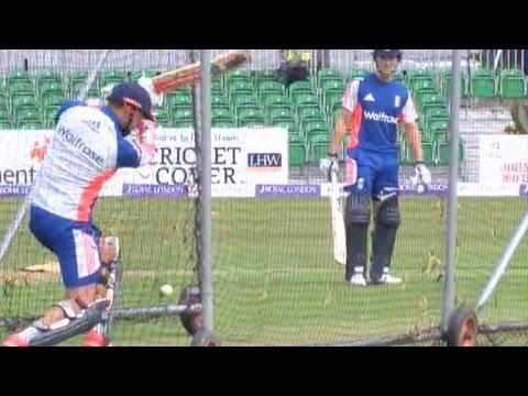 England cricket team training ahead of Ireland ODI in Malahide