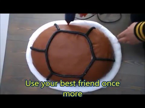 POKEMON Toturial:How to make Squirtle shell