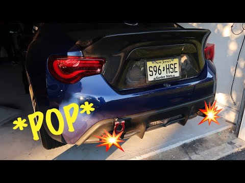 HOW TO MAKE YOUR EXHAUST POP (FAIL)