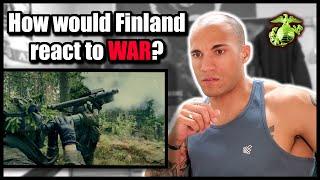 How would Finland react to war? (Marine reacts to Taistelukenttä 2020)