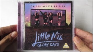 Little Mix - Glory Days ( Album Deluxe Edition CD + DVD ) - Unboxing CD en Español